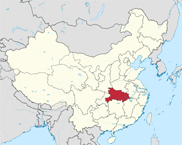 Hubei Province In China Map