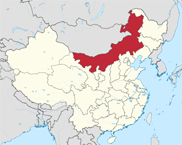 Inner Mongolia Autonomous Region In China Map