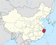 Zhejiang Province In China Map
