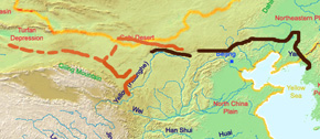 Great Wall of han Dynasty