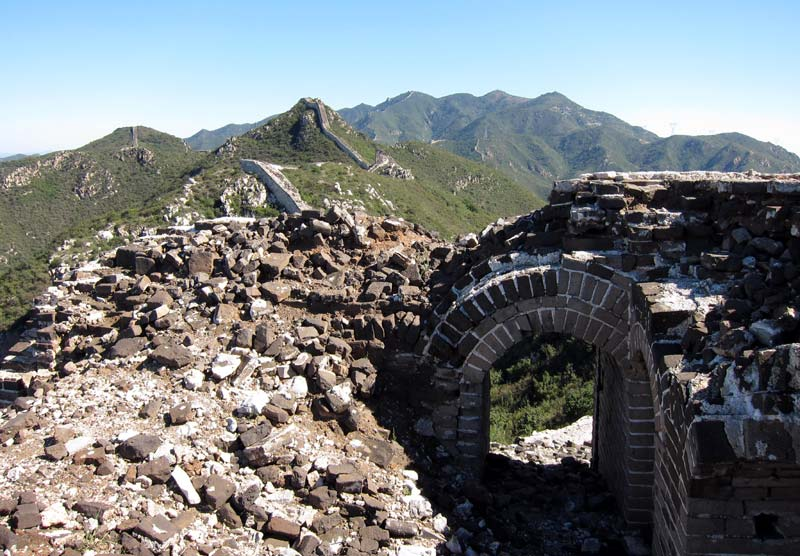 Great Wall Sections - Chenjiabao Photos