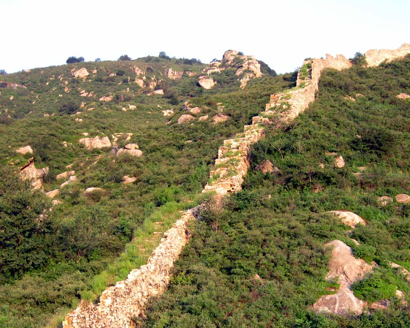 Great Wall Sections - Qinglongxia Photos