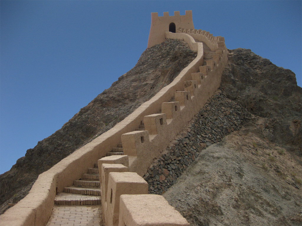 Great Wall Sections - Shiguanxia Photos