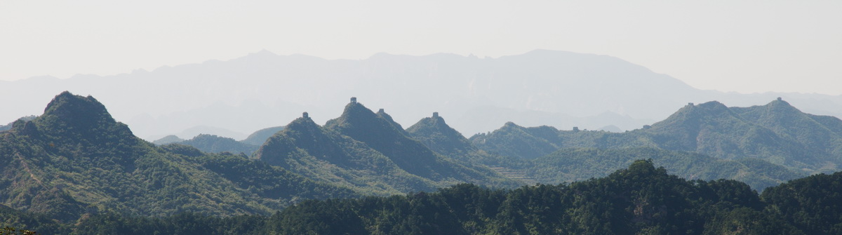 Great Wall Sections - Zhuizishan Photos