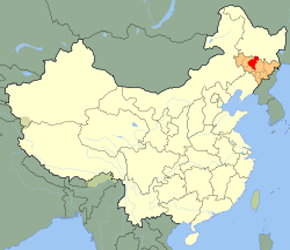 The Location of Changchun in China Map