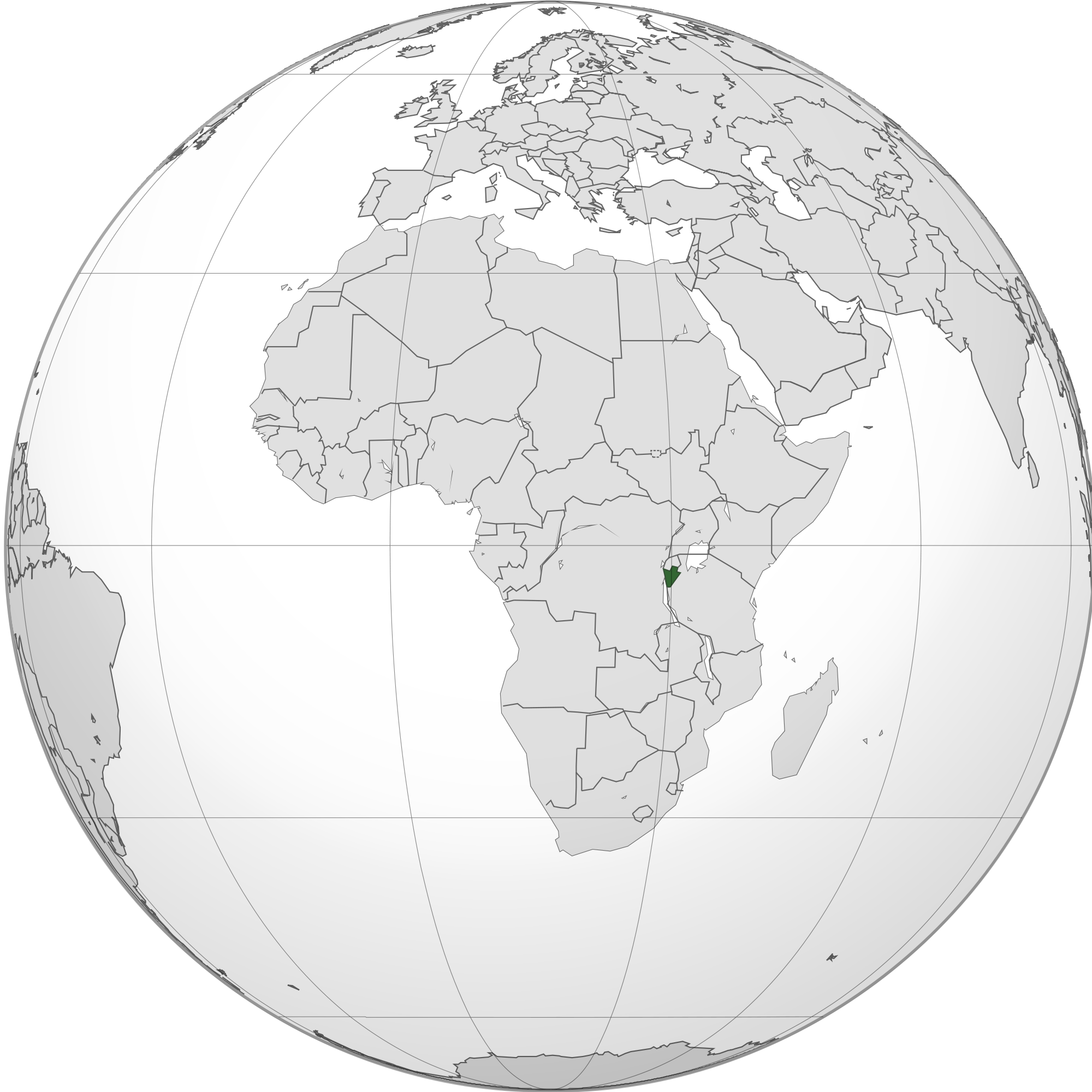 Location Of The Burundi In The World Map - Where is burundi on a world map
