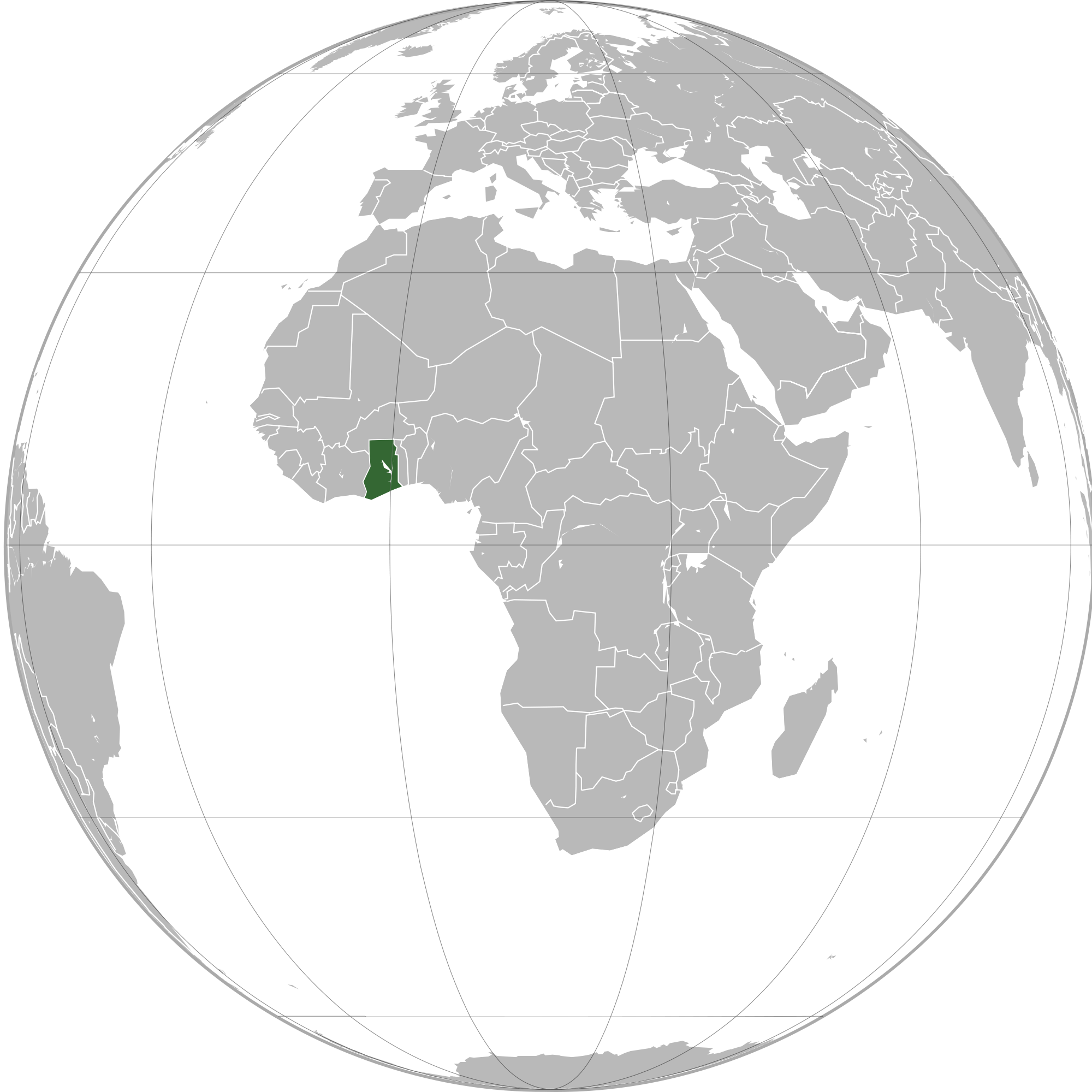 Location of the ghana in the world map ghana map gumiabroncs Choice Image