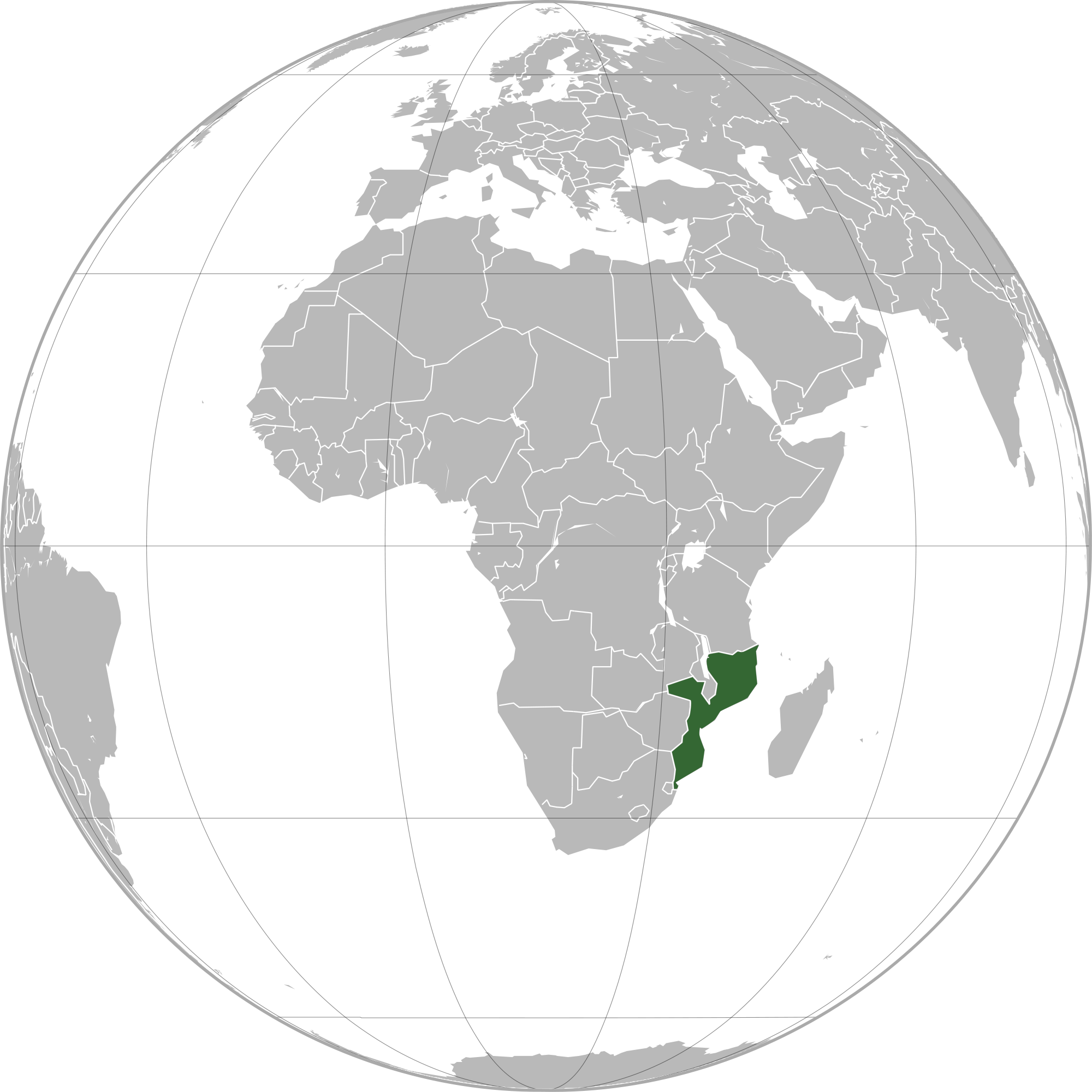 Location of the mozambique in the world map mozambique map gumiabroncs Images