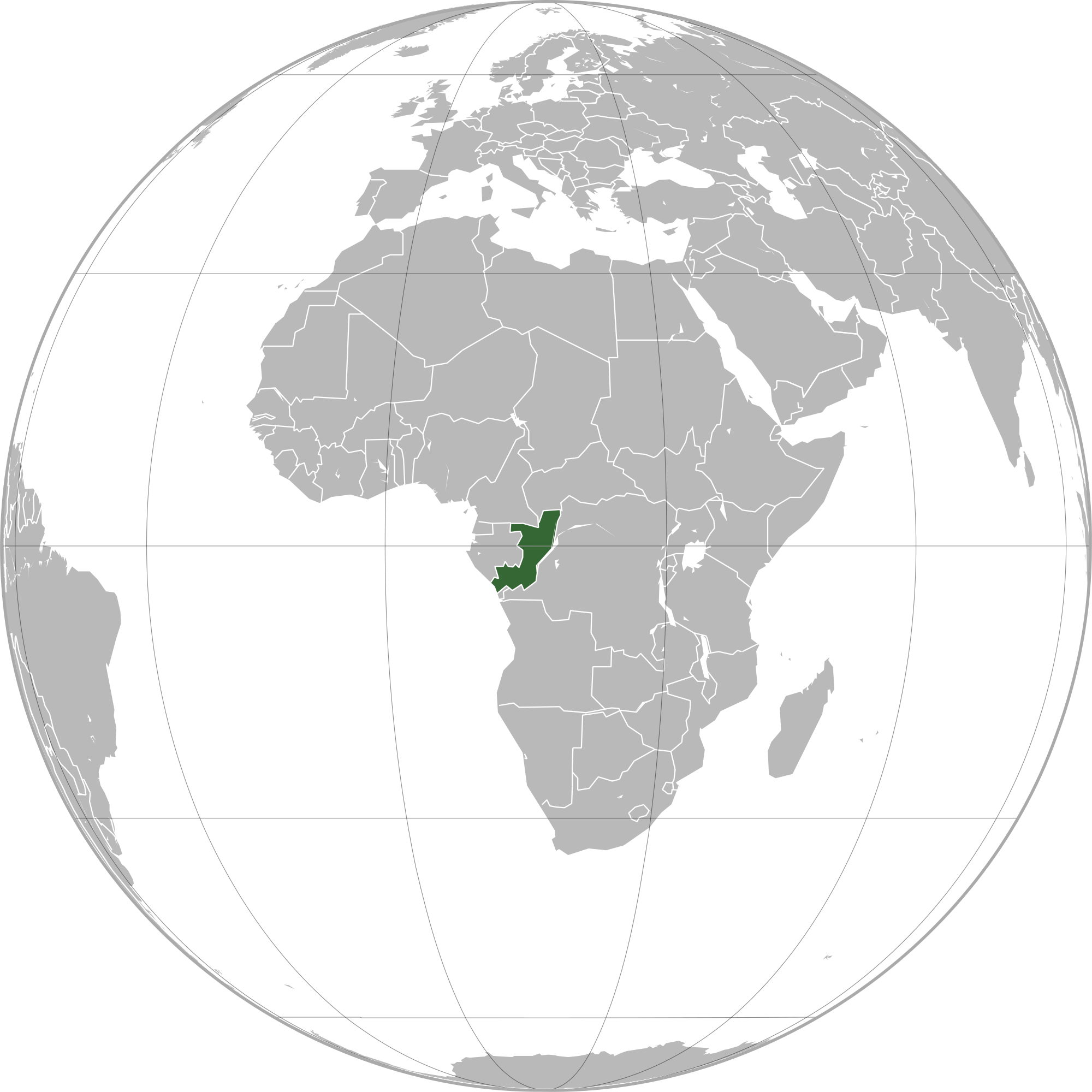 Location of the republic of the congo in the world map republic of the congo map gumiabroncs Gallery