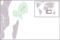 Seychelles Location in World Map