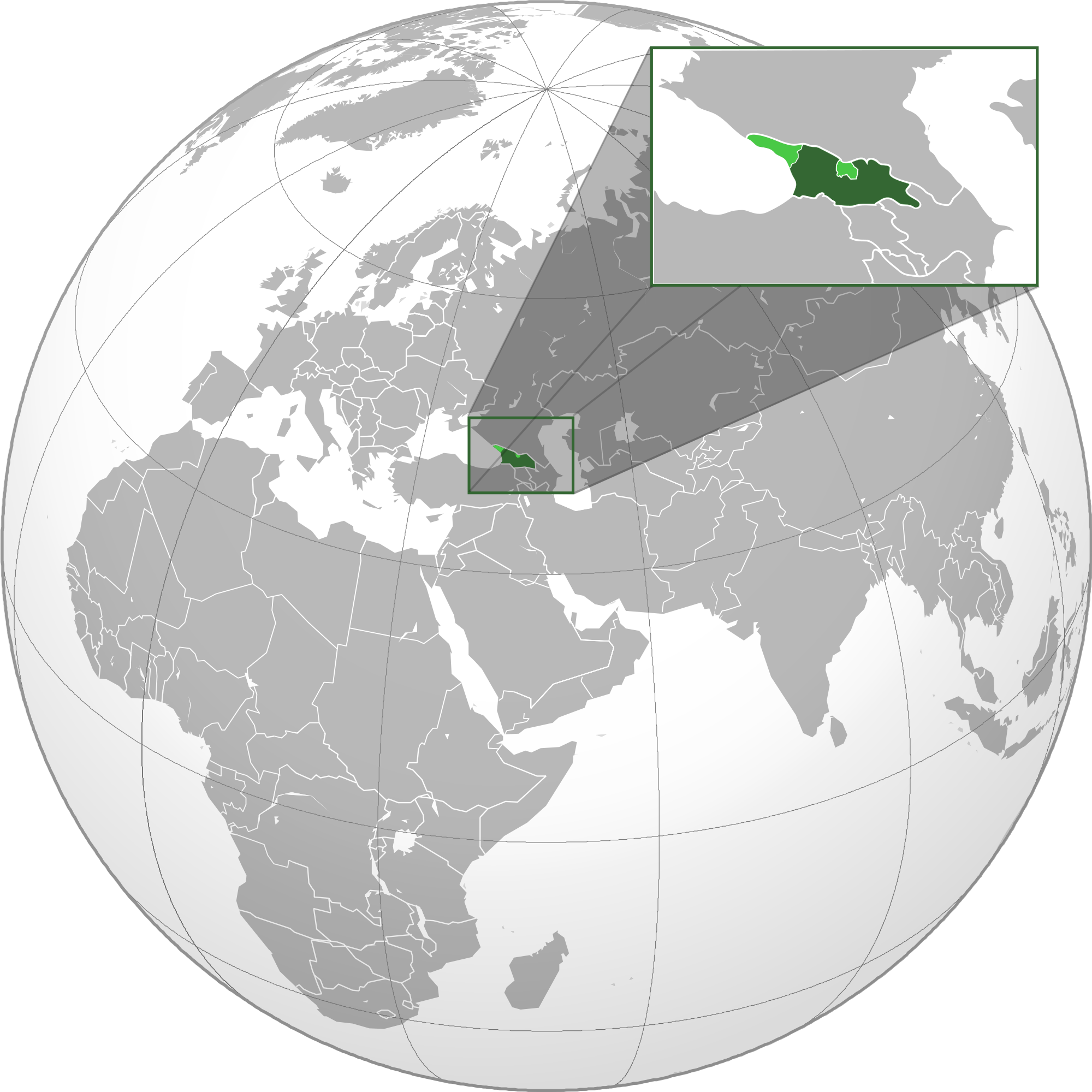 Location of the georgia in the world map georgia map gumiabroncs Choice Image