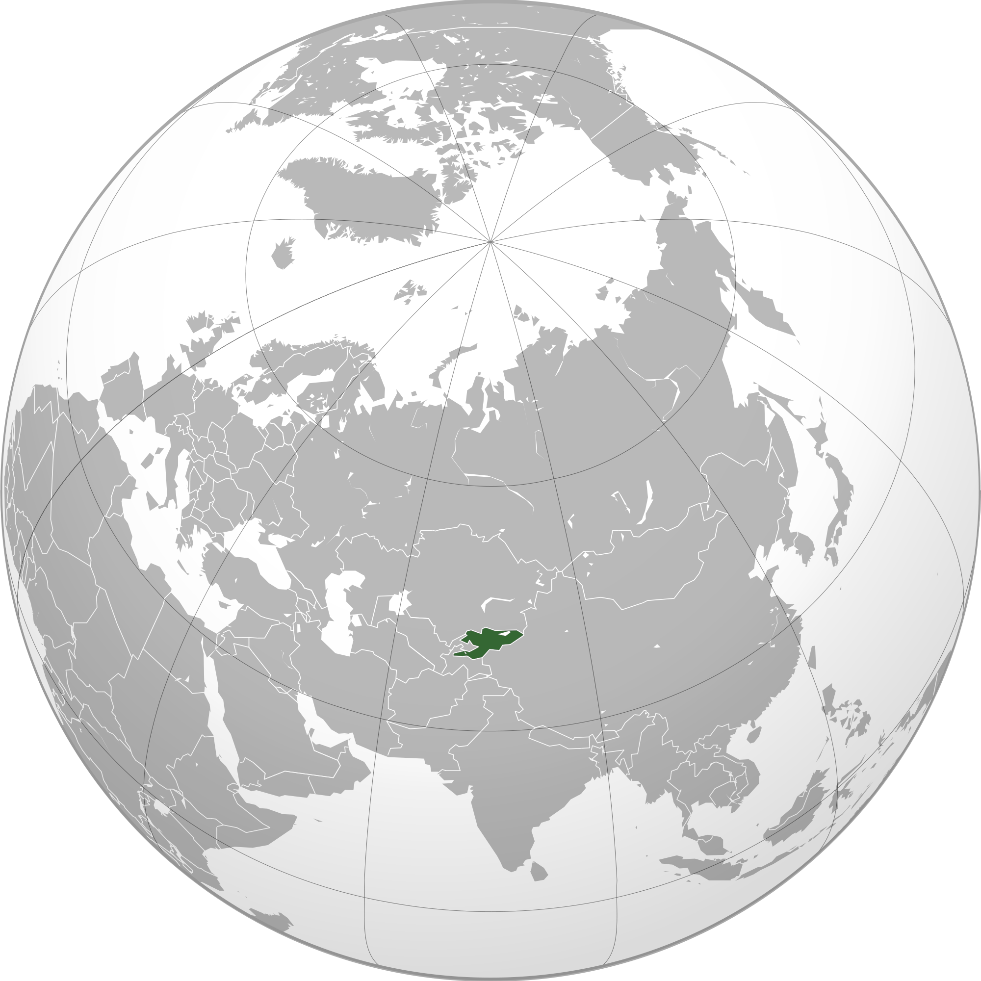 Location of the kyrgyzstan in the world map kyrgyzstan map gumiabroncs Choice Image