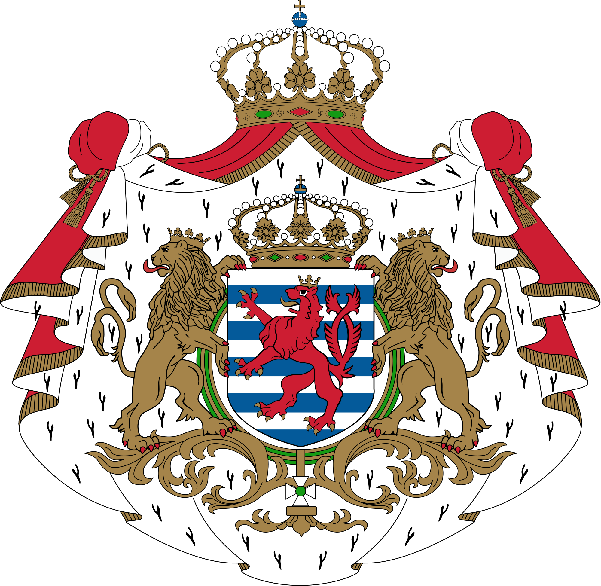 Emblem of Luxembourg