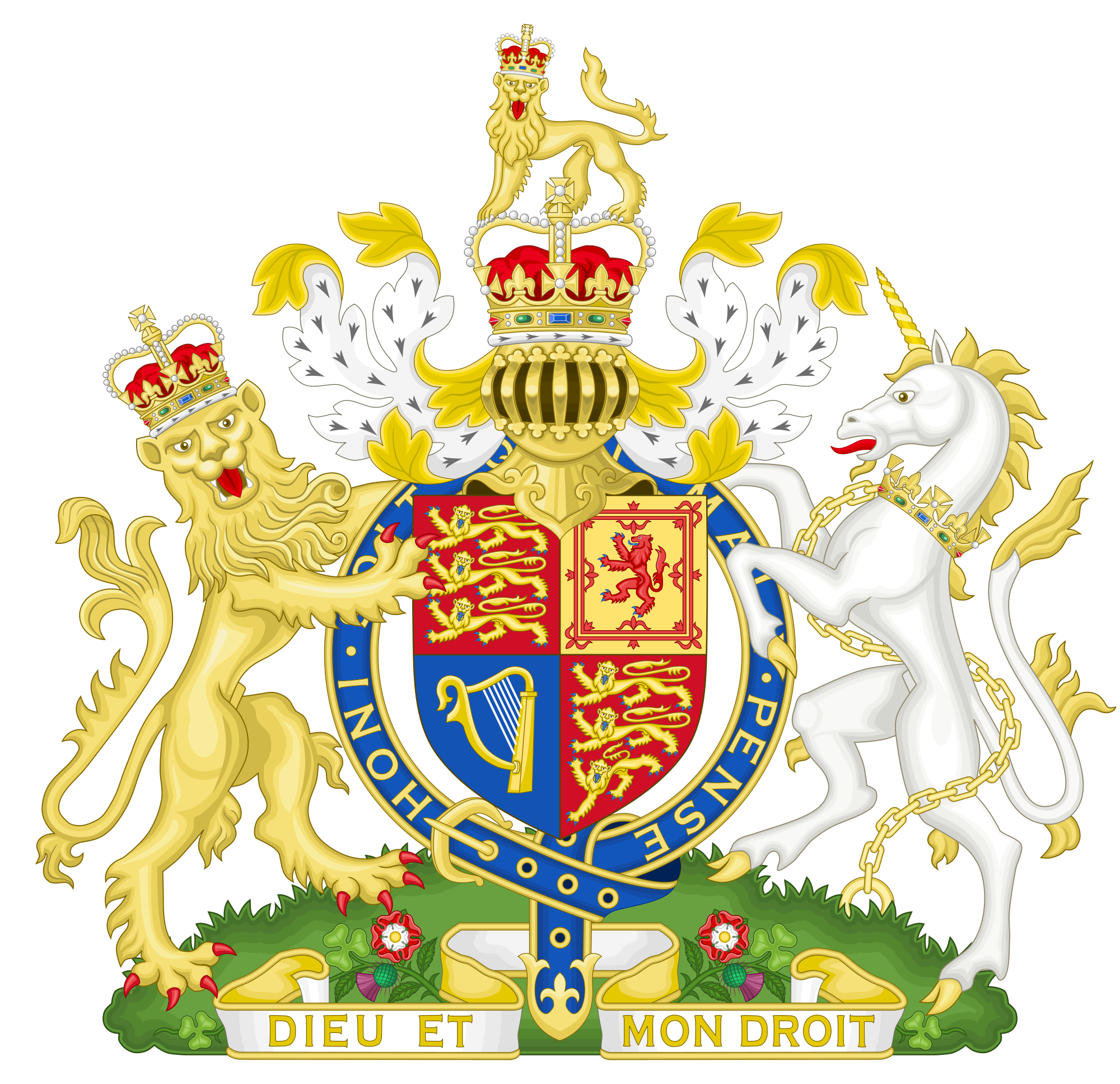 Emblem of United Kingdom
