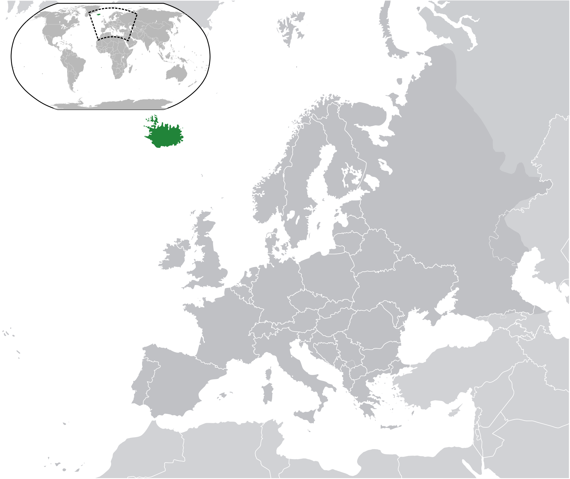 Location of the iceland in the world map iceland location iceland map gumiabroncs Gallery