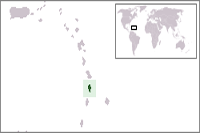 Saint Lucia Location in World Map