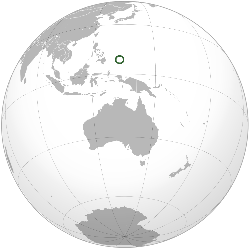Location Of The Palau In The World Map