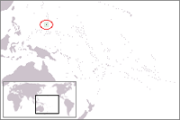 guam Location in World Map