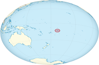 Location of Samoa