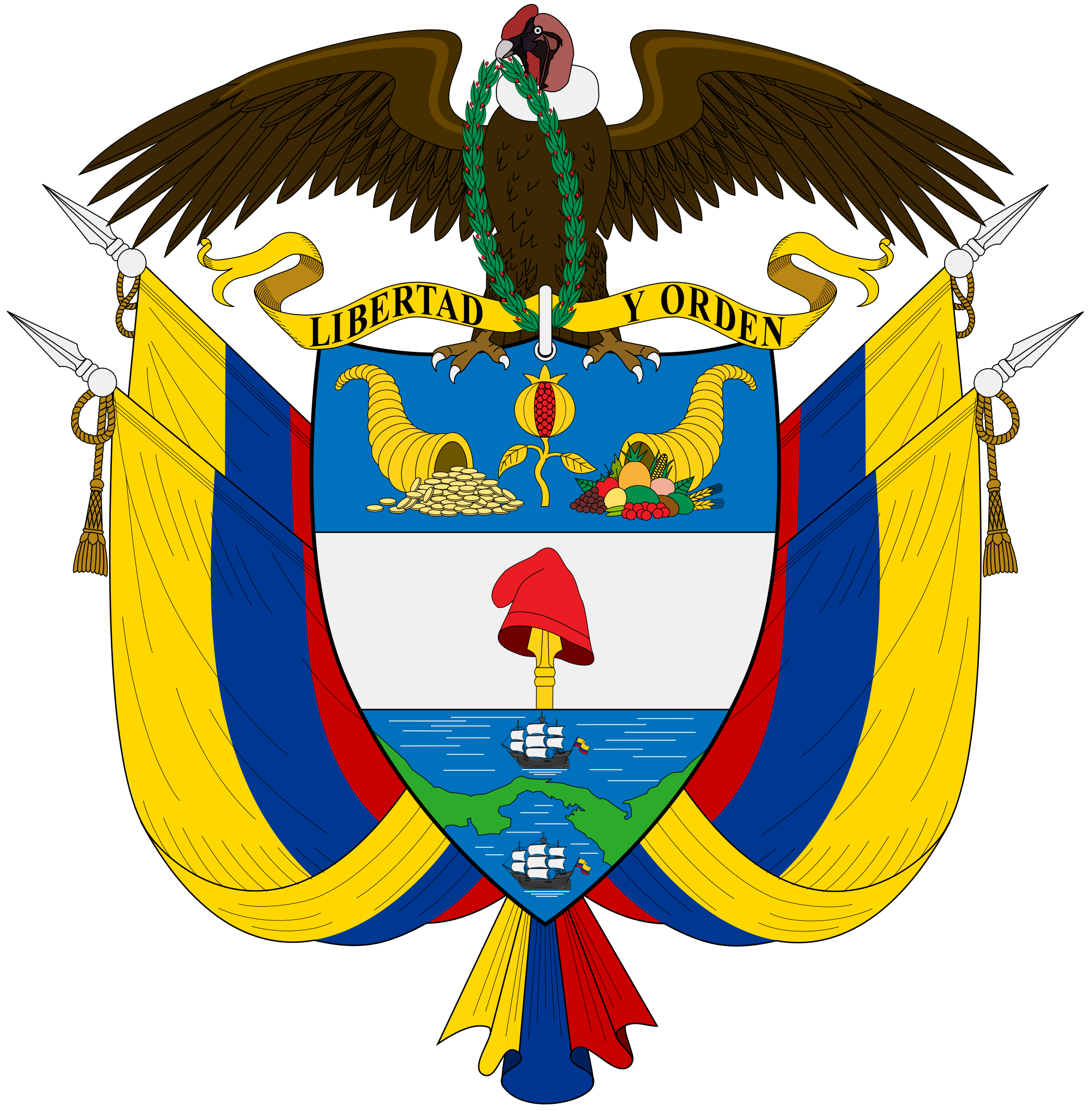 Emblem of Colombia