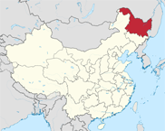 Heilongjiang Province In China Map