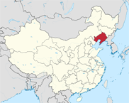 Liaoning Province In China Map